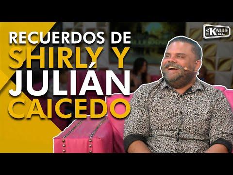 Shirly y Julián Caicedo recordaron cuando actuaron de novios  - La Kalle