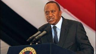 President Uhuru Kenyatta's first public warning after October 26th Presidential Election