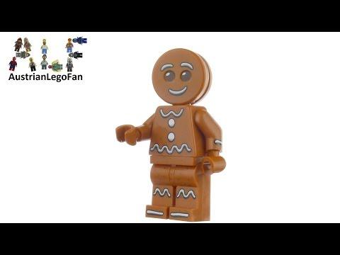 Vidéo LEGO Saisonnier 5005156 : Le bonhomme en pain d'épices