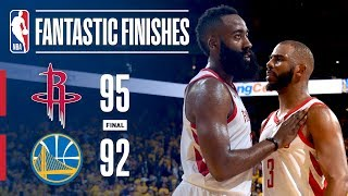Best Plays From Down The Stretch: Rockets vs Warriors