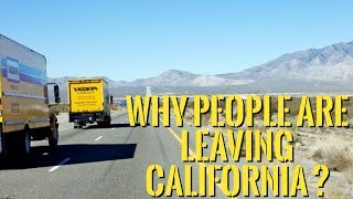 Top 5 Reasons Why People are Leaving California !