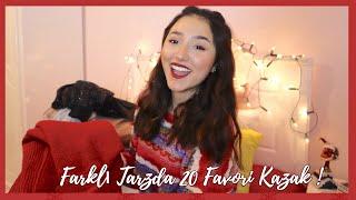 #YeniYılaSon19: Farklı Tarzda 20 Favori Kazak !