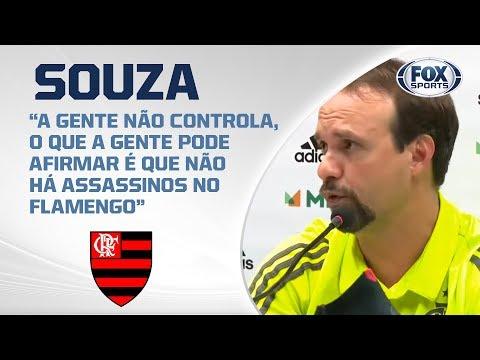 AO VIVO! Técnico do Flamengo fala após derrota para o Fluminense