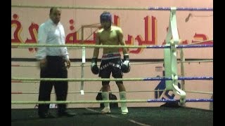 preview picture of video 'kick boxing annaba / bada anis  11/12/2014'