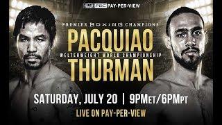 Fight Night Champion Кит Турман - Мэнни Пакьяо