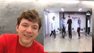 BTS Just One Day Dance Practice  Non Kpop Reaction