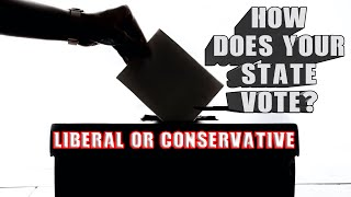 How liberal or conservative is your state? 49 states Penn. had conflicting Data.