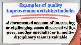 Appraisal of Doctors- Quality Improvement Activity