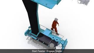 Coal Feeder In Operation