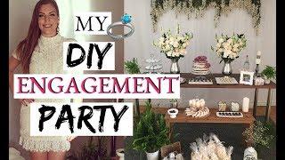 MY DIY ENGAGEMENT PARTY | PROJECT DIY BRIDE |