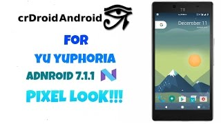 BEST 64 BIT ROM with VoLTE for Yuphoria | How To Flash + Review