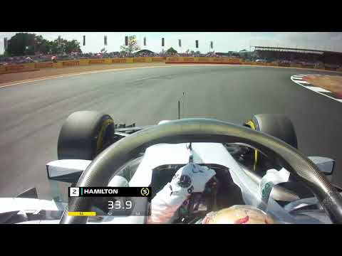 Lewis Hamilton's Record-Breaking Pole Lap | 2018 British Grand Prix