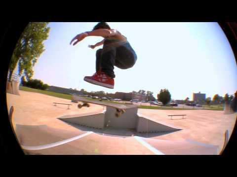 Sandusky Skatepark Zach Horkan
