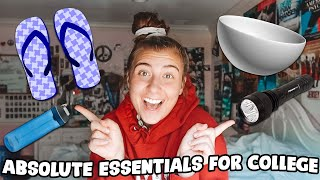 20 ABSOLUTE ESSENTIALS FOR COLLEGE | College Dorm Room Shopping 2020