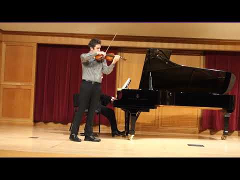 Master's Recital- Efrem Zimbalist's Phantasy on Le Coq d'Or