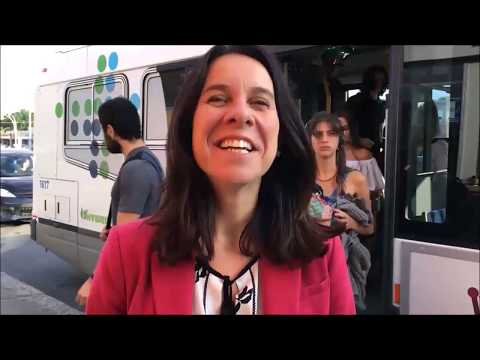 Valérie Plante - Pre-election Marathon seeing 19 Boroughs