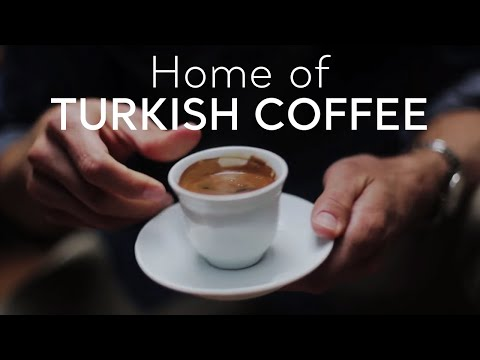 Turkey, Home of Turkish Coffee