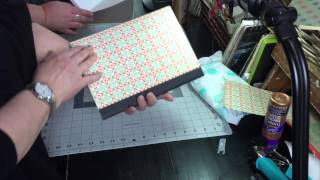 Project Craft Journal Part 1- Covering A Composition Notebook