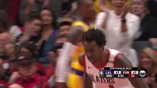 3rd Quarter, One Box Video: Portland Trail Blazers vs. Los Angeles Lakers