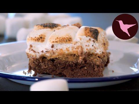 S'more Brownies | The Hummingbird Bakery