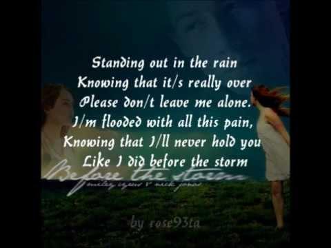 Nick Jonas ft. Miley Cyrus - Before The Storm (Instrumental/Karaoke)