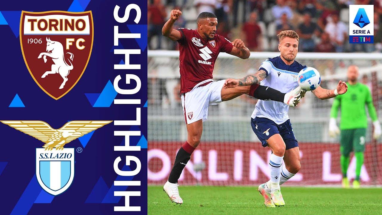 Torino 1-1 Lazio   La Lazio trova il pareggio nel finale   Serie A TIM 2021/22