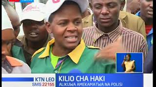 Mwanamke mmoja adai kudhulumiwa na polisi