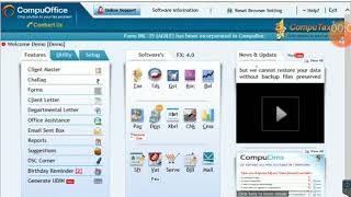 CompuTax software demo