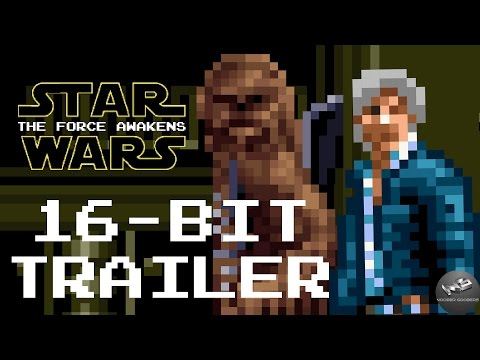Star Wars: The Force Awakens Trailer In 16-Bit Video Game Style Is Fun