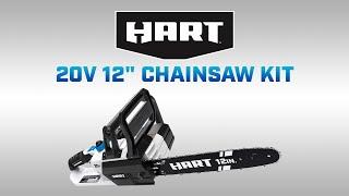 "HART 20V 12"" Chainsaw Kit"