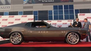 Chip Foose Reveals The Mach Foose Mustang At 2017 SEMA