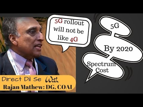 5G roll out will not be like 4G in India: COAI