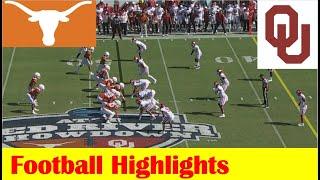 #21 Texas vs #6 Oklahoma Football Game Highlights 10 9 2021