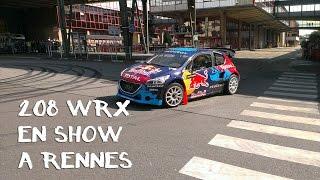 preview picture of video 'La 208 WRX en démonstration à PSA La Janais (Rennes)'