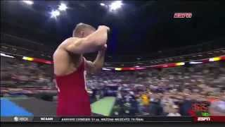 Kyle Dake (Cornell University) – 4x NCAA Wrestling Champion