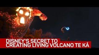 Disney's secrets to creating living volcano Te Ká in 'Moana'