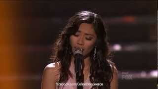 Jessica Sanchez Sings Celine Dion - The Prayer (American Idol Finale 22/5/12) [HD]