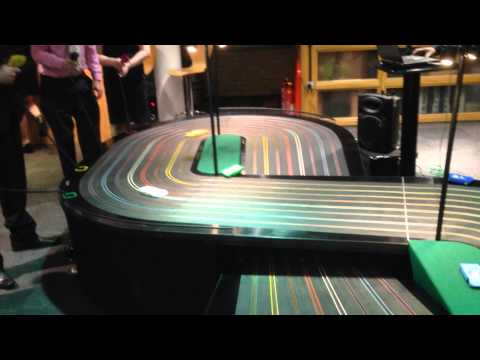 8 Lane Slot Car Track