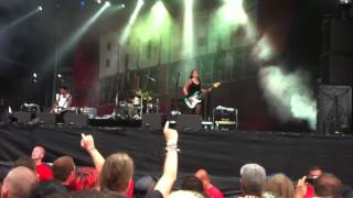 preview picture of video 'Broilers - Meine Sache live @ WFF 2012'