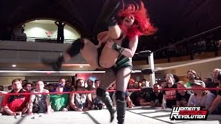 [Free Match] Taeler Hendrix vs. Jordynne Grace - Women's Wrestling Revolution Showcase at Beyond