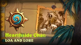 Hearthside Chat with Dave Kosak: Loa & Lore | Hearthstone