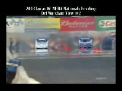 Kompilacja wypadków podczas drag racingu