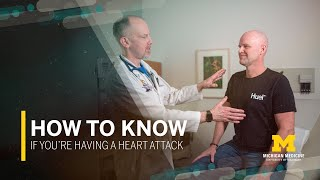 How to Know if You're Having a Heart Attack