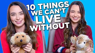 10 Things The Merrell Twins Can't Live Without