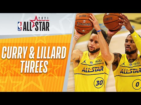 Stephen Curry & Damian Lillard Put On Another Shooting DISPLAY From Three!