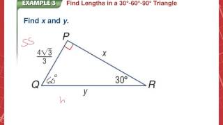 Geometry 8 3 Notes Special Right Triangles
