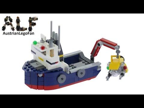 Vidéo LEGO Creator 31045 : L'explorateur des océans
