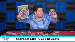 Sagrada: The Great Facades: Life - Our Thoughts (Board Game Review)