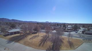 Albuquerque Park Drone flight
