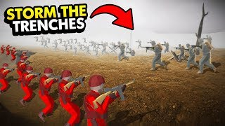 INCREDIBLE *NEW* TRENCH WARFARE IN RAVENFIELD (Ravenfield Funny Gameplay)